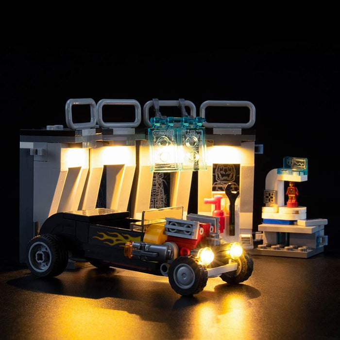 LIGHTAILING Light Set For (Marvel Avengers Iron Man Armory Building Blocks Model - Led Light kit Compatible With Lego 76167(NOT Included The Model)