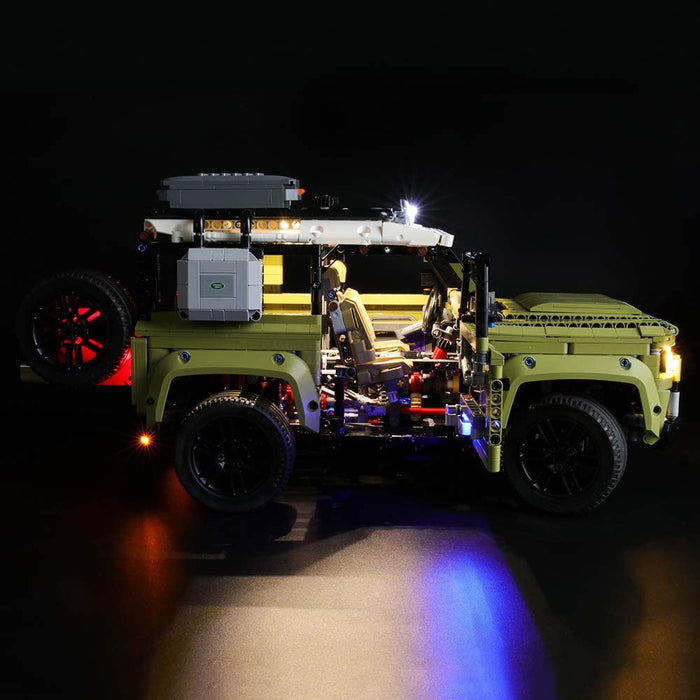 Briksmax LED Light Kit for LEGO Technic 42110 Land Rover Defender
