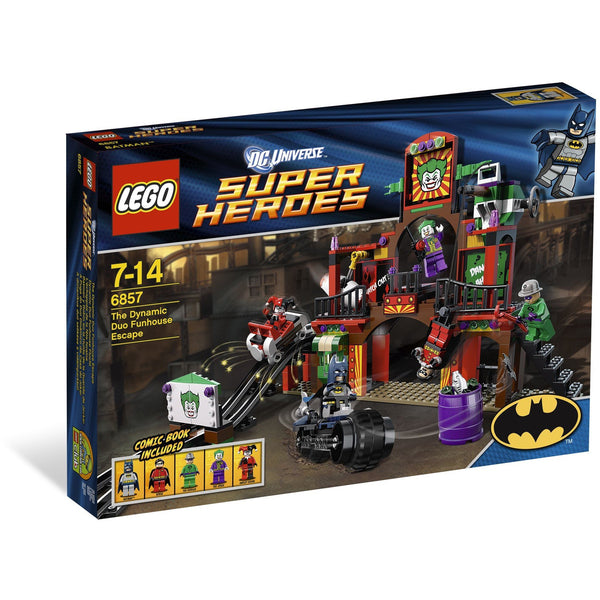 Lego 6857 Super Heroes The Dynamic Duo's Funhouse Escape