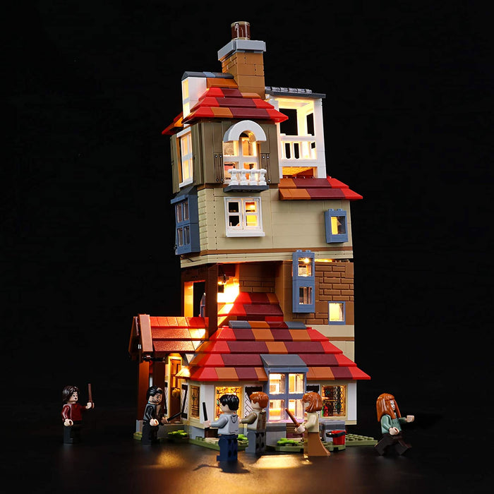 LED Light set for LEGO 75980 Harry Potter Attack on The Burrow by Briksmax