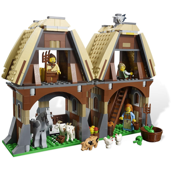 Lego 7189 Kingdoms Mill Village Raid