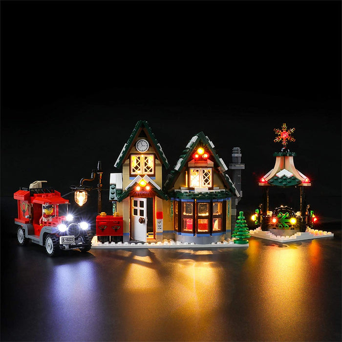 Lightailing LED Light Kit for LEGO 10222 Winter Village Post Office