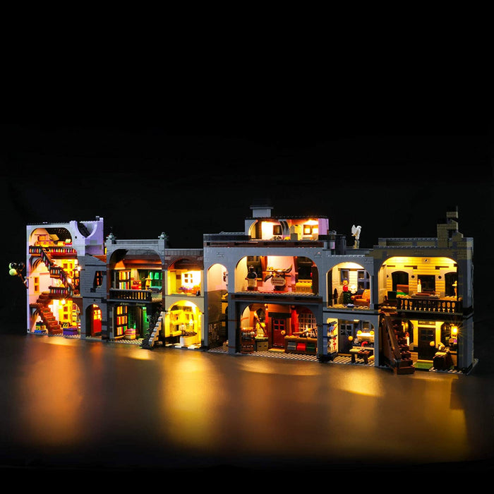 LED Lighting set for LEGO Harry Potter Diagon Alley 75978 by Lightailing