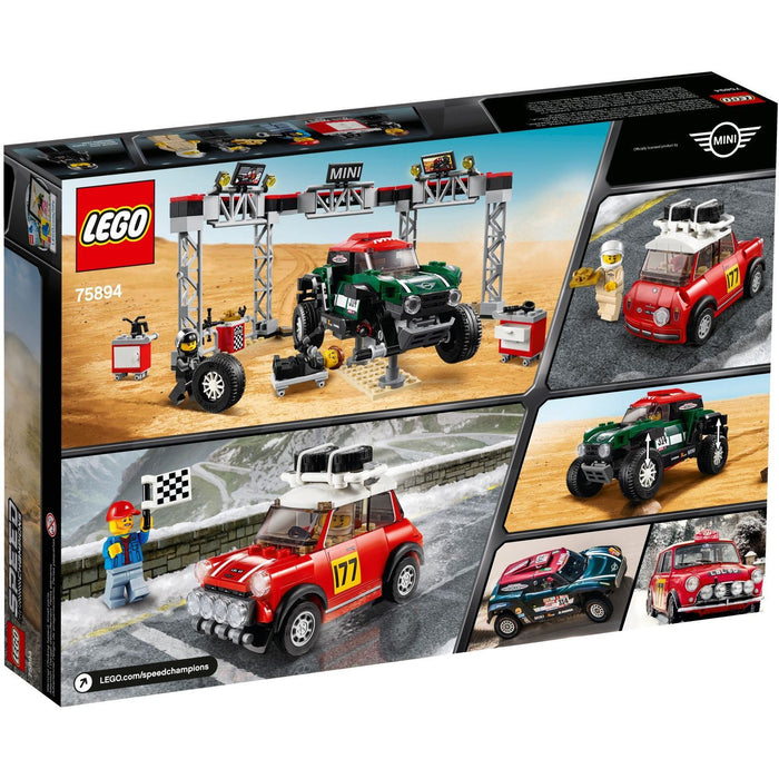 Lego 75894 Speed Champions Mini Cooper S Rally and 2018 MINI John Cooper Works Buggy