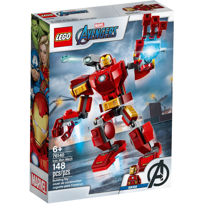Lego 76140 Super Heroes Iron Man Mech
