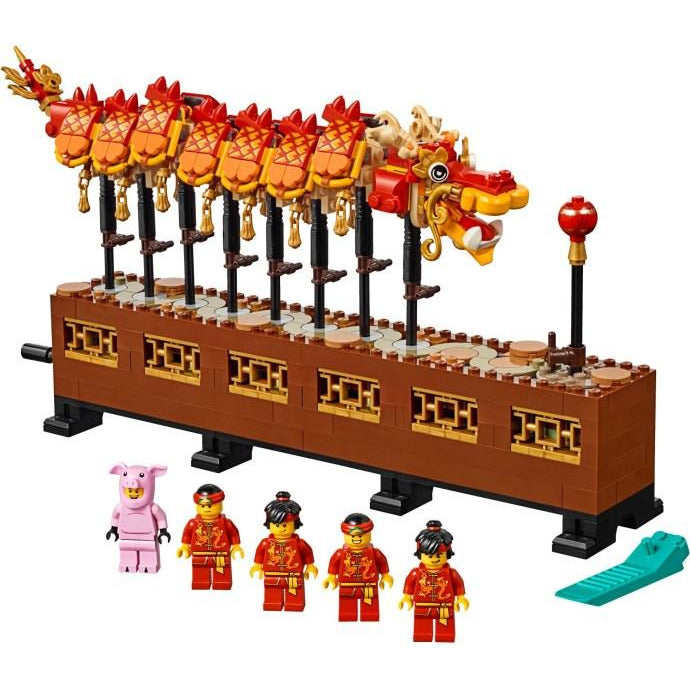 Lego 80102  Dragon Dance - Chinese New Year Exclusive set