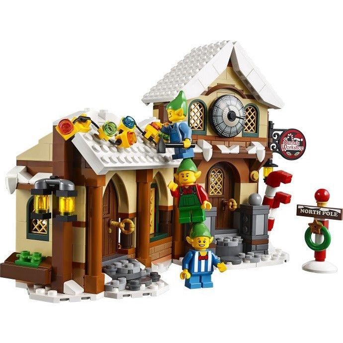 Construction Toys - Lego 10245 Creator Expert Santa's Workshop