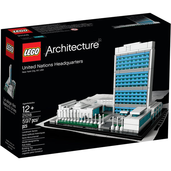 Lego 21018 Architecture - United Nations Headquarters