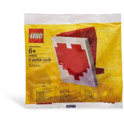 Construction Toys - Lego 40015 Valentine's Day Heart Book