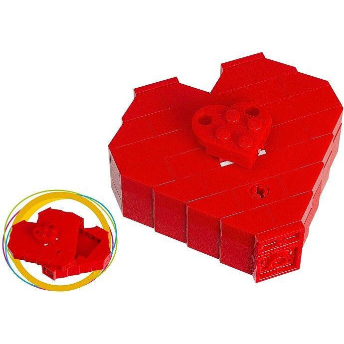 Construction Toys - Lego 40051 Valentines Day Heart Box