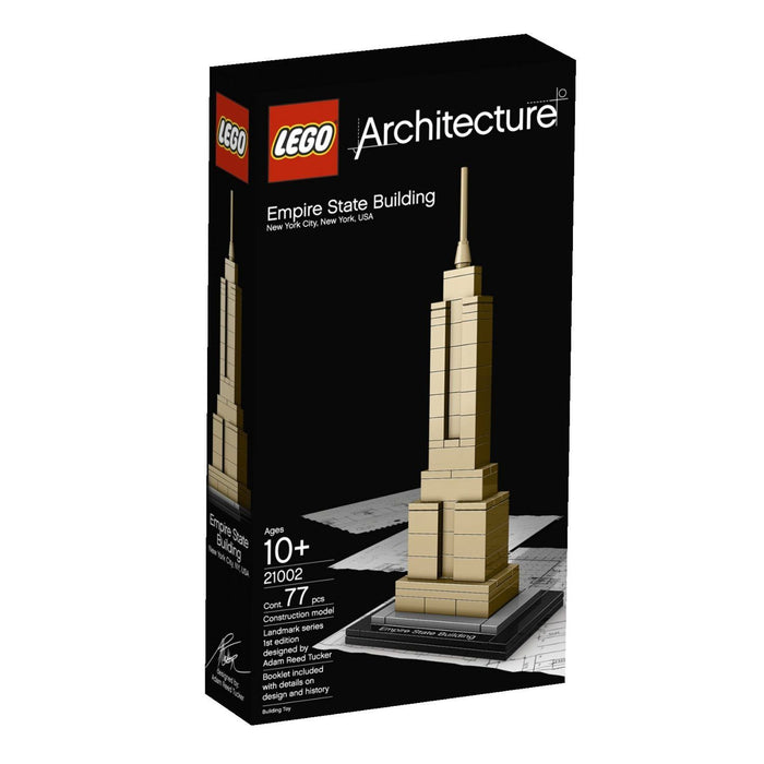 Construction Toys - Lego Architecture 21002 Empire State Building