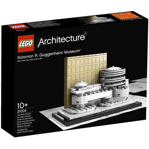 Construction Toys - Lego Architecture 21004 Guggenheim Museum