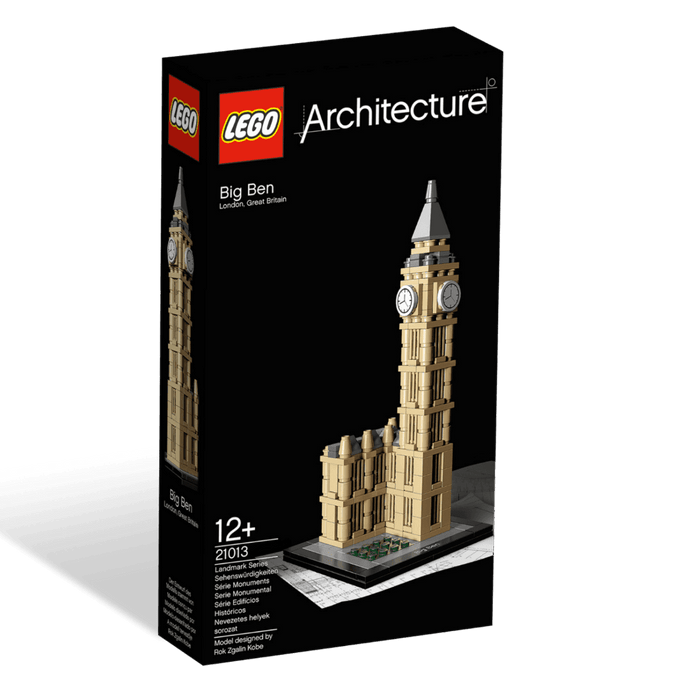 Construction Toys - Lego Architecture 21013 Big Ben