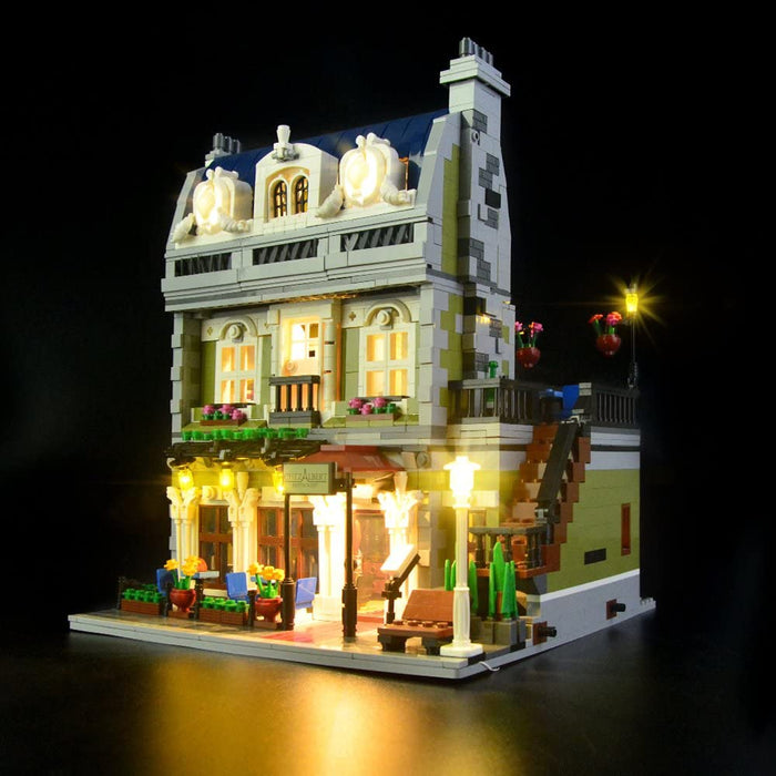 Lightailing LED Light Kit for LEGO 10243 Creator Expert Parisian Restaurant