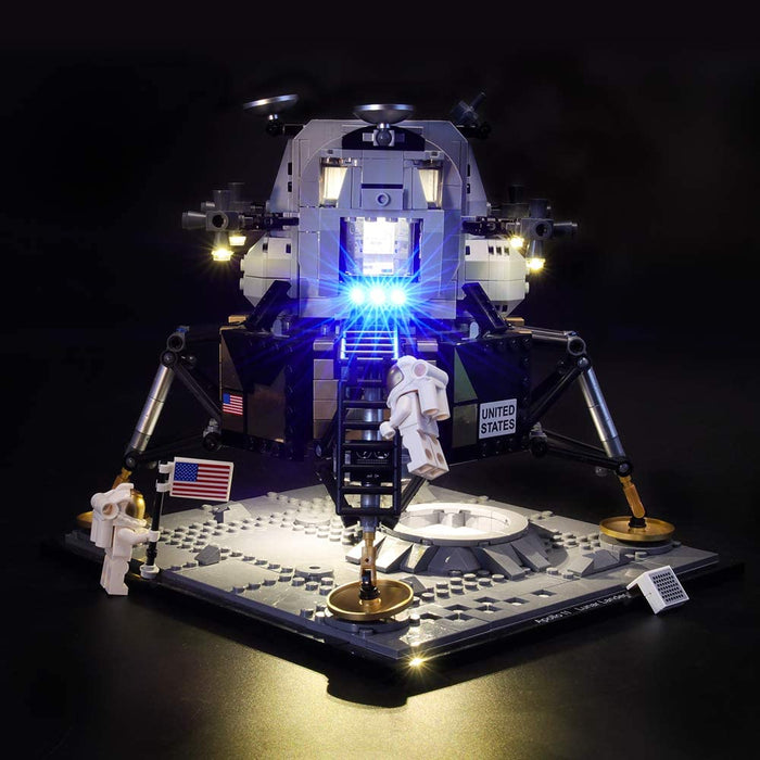 Lightailing LED Light Kit for LEGO Creator Expert 10266 NASA Apollo 11Lunar Lander