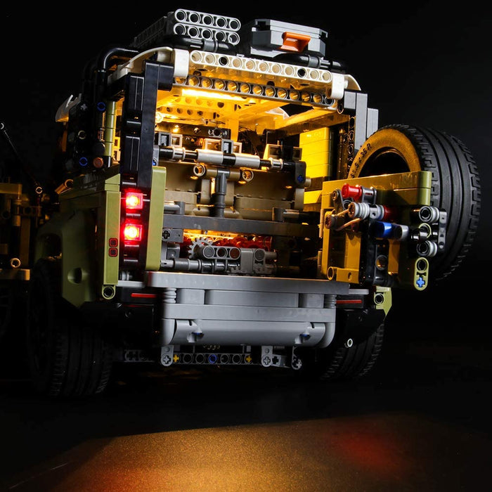 Lightailing LED Light Set for LEGO 42110 Technic Land Rover