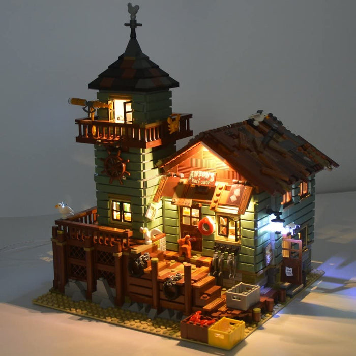 Lightailing LED Light Kit for LEGO Ideas 21310 Old Fishing Store