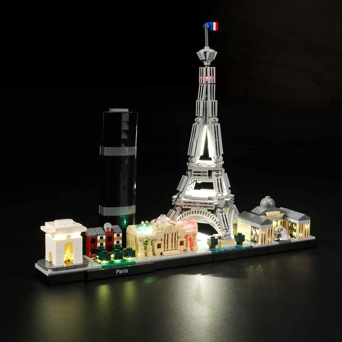 Lighting set for LEGO 21044 Paris by Lightailing