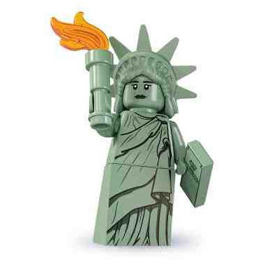 Minifigures - Lego Lady Liberty Series 6 Minifigure