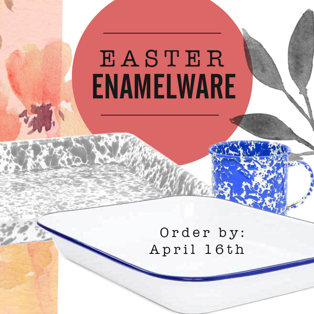Easter Enamelware Give-Away