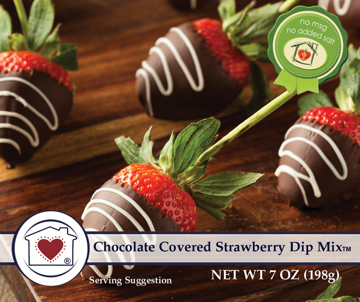 Chocolate Covered Strawberry Dip Mix