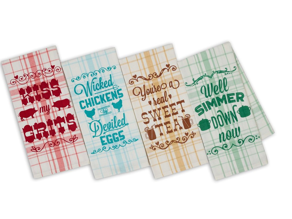 Southern Sass Printed Dishtowel (Sold Separately)