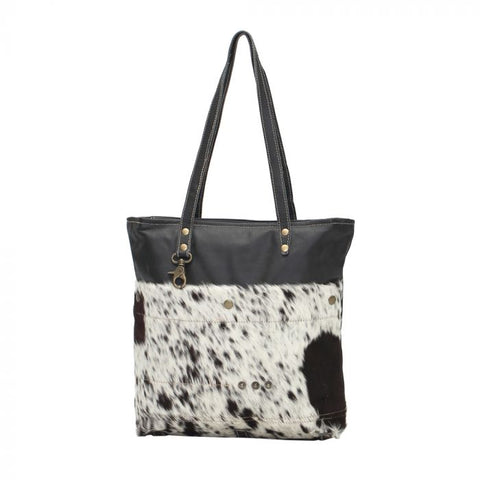 Black Shades Hair-on Tote
