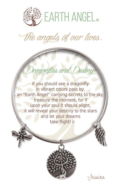 "Earth Angel ""Dragonflies and Destiny"" Bracelet"