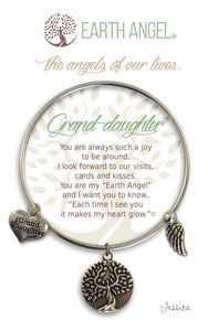 "Earth Angel ""Grand-daughter"" Bracelet"