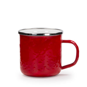 Solid Red Adult Mug