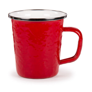 Solid Red Latte Mug