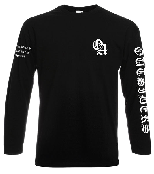 TEAM OUTSIDERS LONG SLEEVE - Black