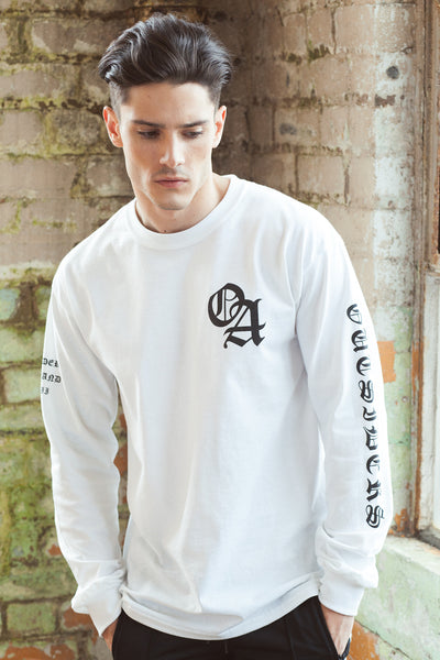 TEAM OUTSIDERS LONG SLEEVE - White