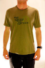 STAY GREEN MENS TEE