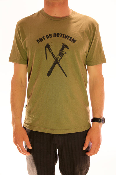 ART AS ACTIVISM MENS TEE