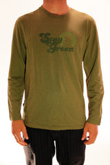 STAY GREEN MENS GRAPHIC LONG SLEEVE TEE