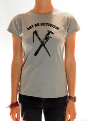 ART AS ACTIVISM WOMENS TEE