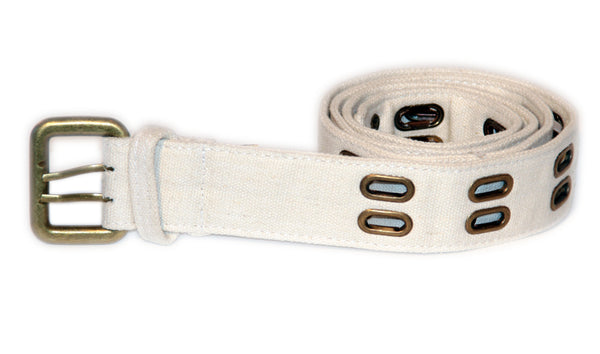 RUGGED EYELET BELTS