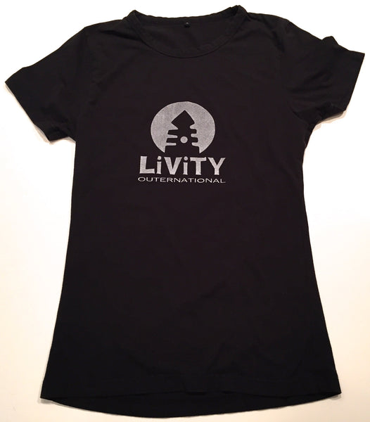 LIVITY TECH LOGO WOMENS GRAPHIC TEE
