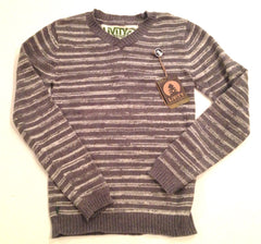 Mix-Cycle Vee Neck Sweater