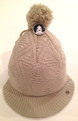 Kids Organic Cotton Brim Beanie