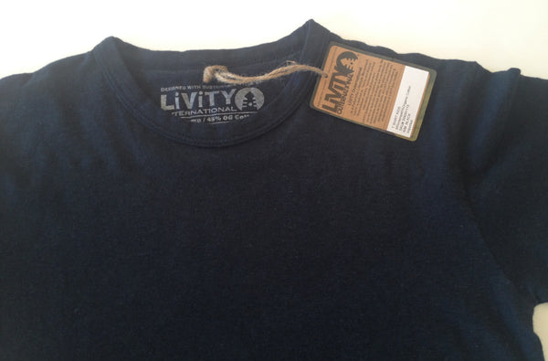 Hemp Livity Kids Solid Tee