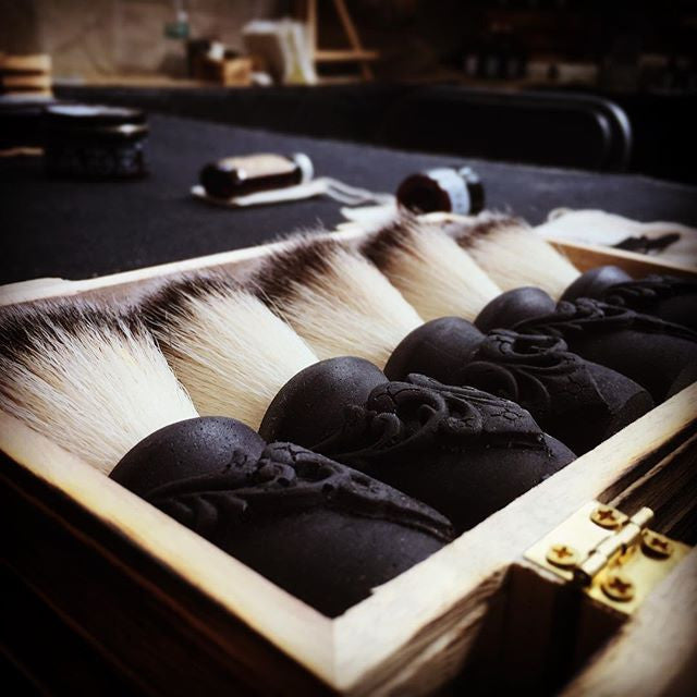 Custom Shaving Brush - The Holy Black Trading Co  - 1