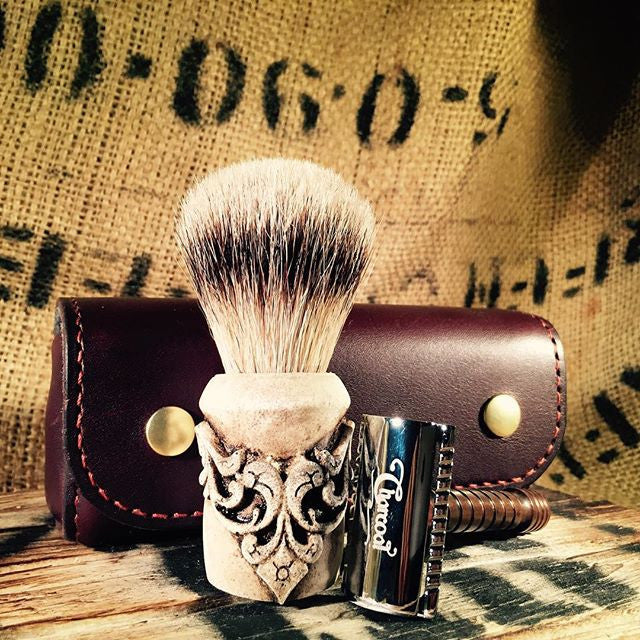 Custom Shaving Brush - The Holy Black Trading Co  - 2