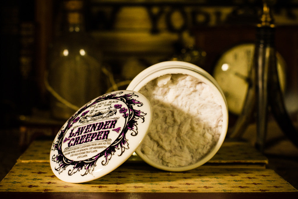 Lavender Creeper Shaving Soap