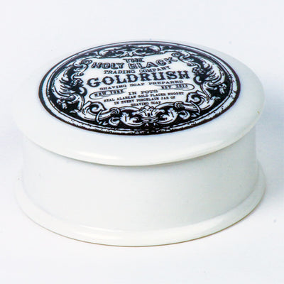 LIMITED EDITION Goldrush Shaving Soap - The Holy Black Trading Co  - 3