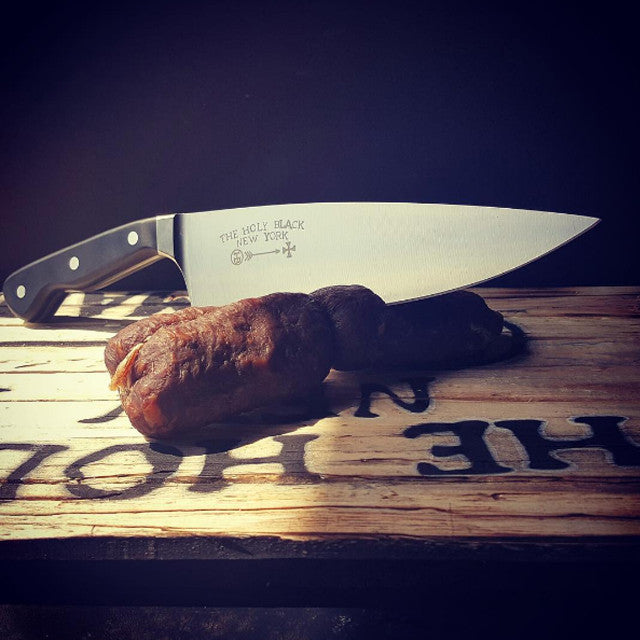 "Limited Edition Holy Black 8"" Chef Knife - The Holy Black Trading Co  - 1"
