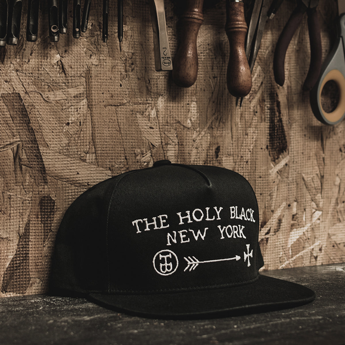 The Holy Black SnapBack