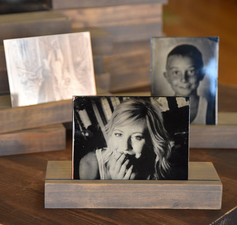 Wooden Tintype Stand