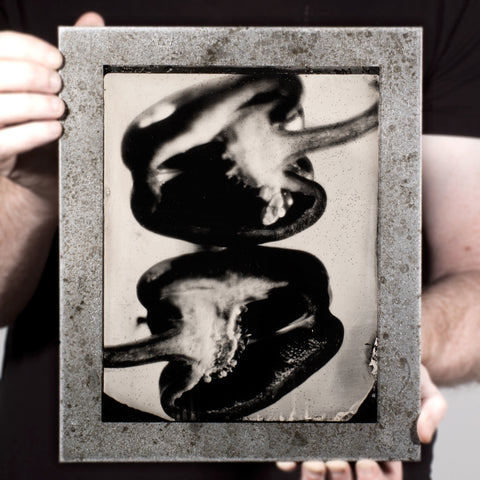 Industrial Produce | Pepper - A Tintype Still Life